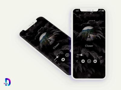 Musical app - UI designs