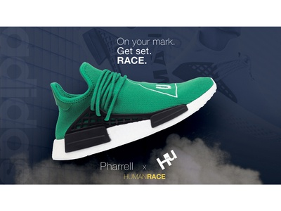 Adidas Human Race Facebook Ad