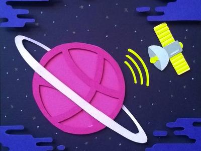 Gravitating in Dribbble