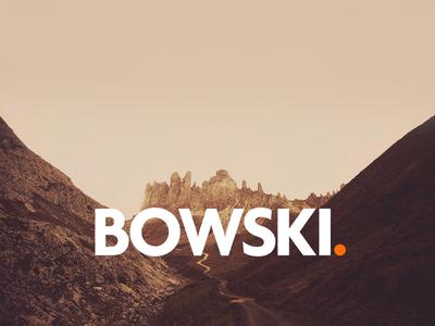 Bowski Logotype