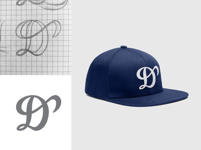 "Drammen Loggers ""D"" cap logo"