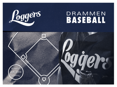 Drammen Loggers Promo Baseball Cards