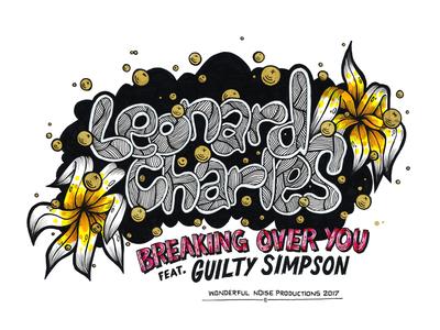 """Leonard Charles 7"""" release promo artwork"""