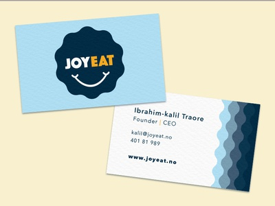 Joy Eat business cards
