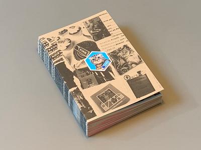 FINN UX Design team Zine publication graphic design diy photocopy lofi print magazine finnuxdesign finnux finn zine