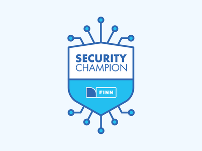 FINN - Security Champion security logo it security vector it security design branding brand logo design logo finn.no finn