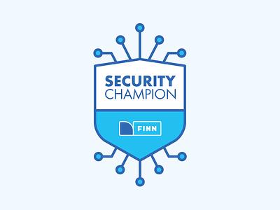 FINN - Security Champion security logo it security vector it security design branding brand logo design logo finn.no finn