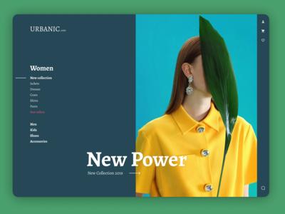 Urbanic - Online clothing shop