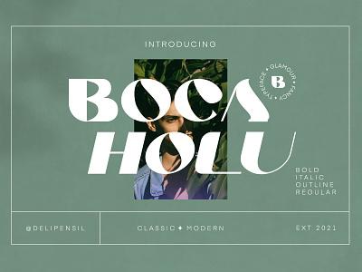 Boca - Botanical Serif Typeface inspiration ux ui font family purple green botanical classic elegant serif font fonts
