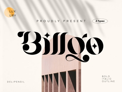 Billqo - Modern Serif Typeface serif clean classic elegant ui fonts font