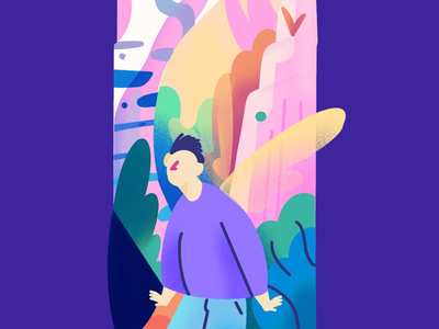 Exploration Gradient Illustration