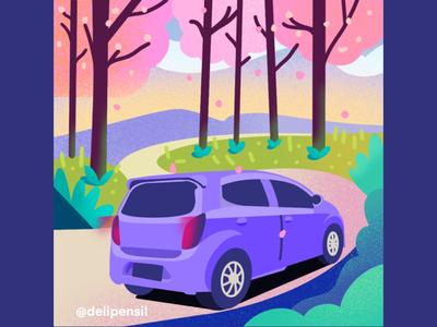 Cars Illustration