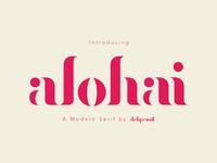 Alohai Medium Font