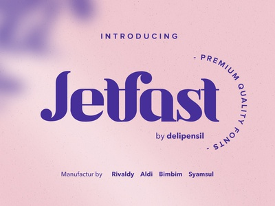 Jetfast Medium Fonts