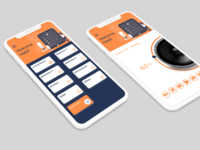 Smarthome app screens