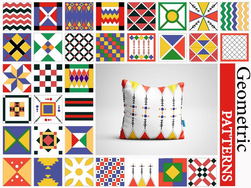 Geometric Patterns wallpaper seamless pattern patterns pattern vector stripes square seamless ornament geometry geometric background abstract abstract art