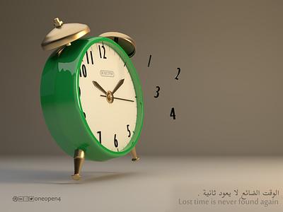 Alarm-Clock timer 3d 3d art cinema 4d cinema4d creative time clock