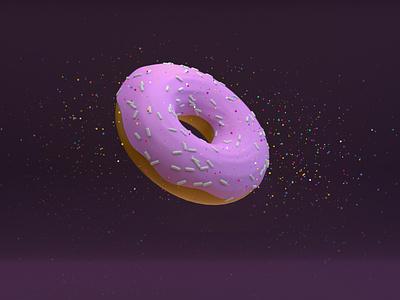 Donuts coffee cup food cinema4d designs design doughnut firstshot donuts