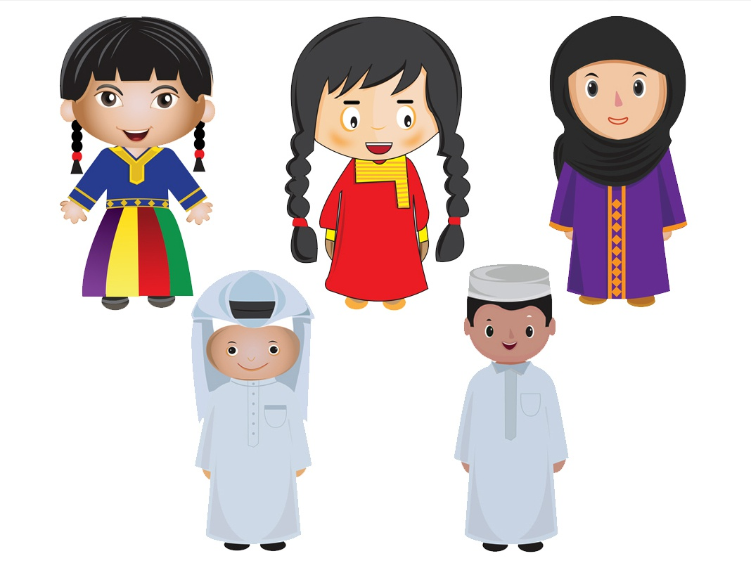 traditional clothes wear traditional boy girl children art child character baby