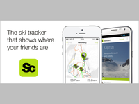 The ski tracker that shows where your friends are