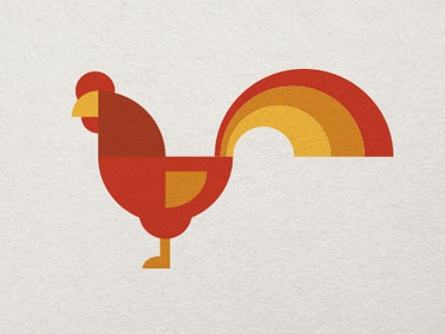 Rooster logo 2