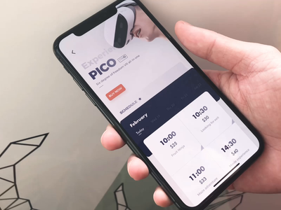 Pico-VR mobile animation design app ui ux