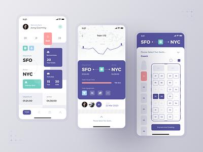 Travel Ticketing System travel interface figma mobile app mobile design app ui ux
