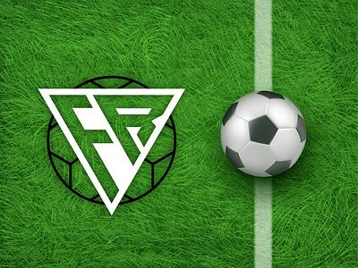 FR FOOTBALL LOGO graphic design logo design logo design modren logo minimalist logo professional logo creative design unique logo