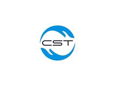 CST LOGO logo maker text sleek minimal flat logo design modren logo minimalist logo professional logo creative design unique logo