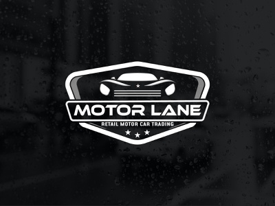 Motor Lane customlogo logodesigner logotype carservice autoservice automotive unique logo creative design logo design modren logo minimalist logo professional logo carlogo auto automobile motorlane car