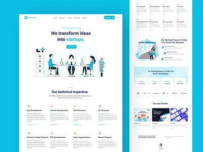 OneSyntax Agency Website Redesign upwork sri lanka redesign website agency figma uidesign we ui