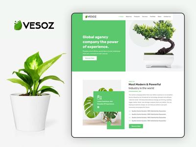 Vesoz WEb UI Design