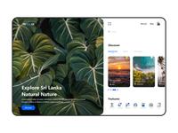 The Traveler Web Site Concept
