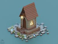 Elven fairytale house