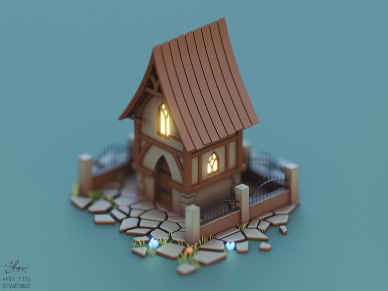 Elven fairytale house #2
