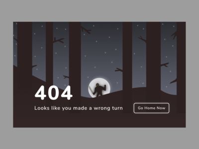 Daily UI :: 008 :: 404 Page jason voorhees fridaythe13th 404page 404 error 404 dailyui008 daily 100 challenge dailyui