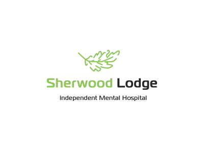 Sherwood Logo logo sherwood green health hospital lodge leaf oak tree