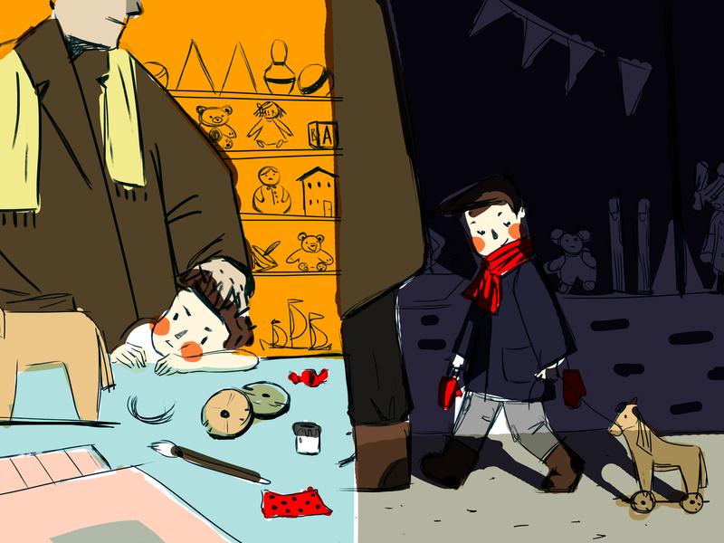 Mayakovkiy sketch illustration childrens illustration childrens book artwork art