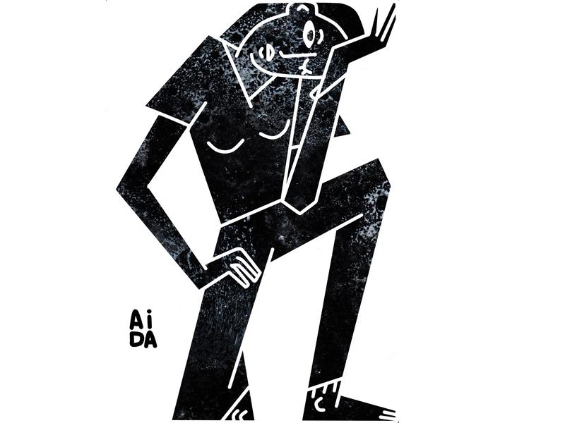 locked character design design illustration artwork art