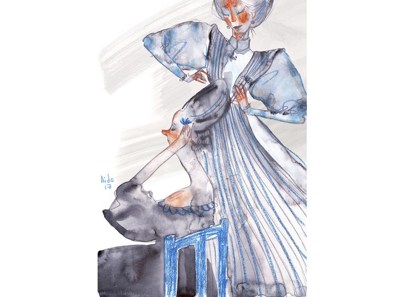 Cinderella sketch childrens book childrens illustration character design illustration artwork art