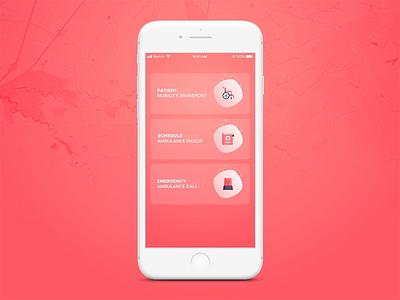 Health Care App speed social menu app design icons car branding categories minimalism button vector ux icon typography illustration animation ui ios