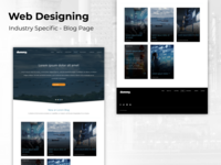 Web Design - Industry Specific Blog Page