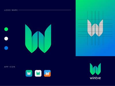 W- Letter Logo