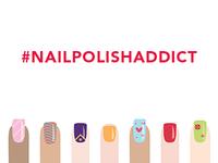 #NAILPOLISHADDICT