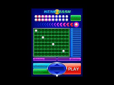 Keno Game Video keno developers keno graphics keno art keno design keno video keno game keno gambling game art game design