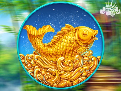 Game slot symbol - Goldfish 🎏🎏🎏 slot symbol development slot symbol design slot symbol art slot symbol goldfish illustration goldfish design goldfish art goldfish symbol goldfish graphic design gambling game art game design