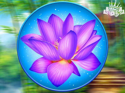A lotus as a slot symbol 🌸🌸🌸 slot machine design slot machine art slot game development slot game developer slot symbol development slot ssymbol developer lotus slot symbol lotus design lotus art lotus illustration lotus symbol lotus gambling game art game design
