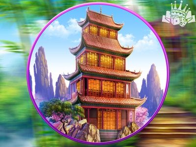 A Chinese Pagoda as another slot symbol slot game design slot machine design slot machine art slot game art slot symbol development slot symbol developer chinese themed slot chinene themed chinese slot chinese art chinese symbol china pagoda chinese pagoda chinese pagoda gambling game art game design