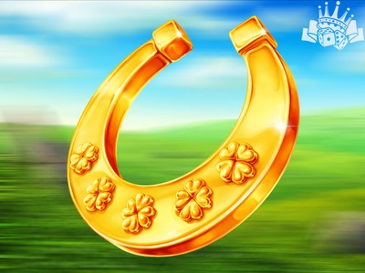 Horseshoe as a slot symbol slot machine graphics slot game grphics slot symbol development slot developer slot symbols design slot symbols irish themed symbols irish themed irish slot game design digital art slot design graphic design gambling game art