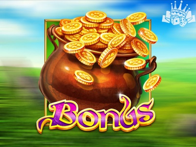 Slot game symbol - A pot of gold slot machine graphics symbol developer slot symbol developer irish slot machine irish slot game irish slot itish themed irish symbol leprechaun pot of gold gold pot pot illustration graphic design gambling game art game design
